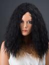 Colormix medel afro lockig syntetisk peruk