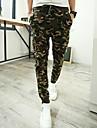 Bărbați Drept Zvelt Simplu Activ Talie Medie,Inelastic Activ Pantaloni Chinos Pantaloni Sport Pantaloni camuflaj