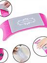 plastique confortable& oreiller coussin d\'art d\'ongle de silicone accessoires manucure equipements de l\'outil (couleur aleatoire)