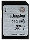 Kingston 64Go carte SD carte memoire UHS-I U1 Class10