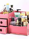 Rangement pour Maquillage Boite de maquillage Rangement pour Maquillage Couleur Pleine 30.0 x 19.0 x 17.0