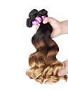 A Ombre Cheveux Malaisiens Ondulation Lache 12 mois 4 Pieces tissages de cheveux
