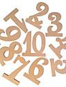 Culoarea Lemnului Tabelul Center Pieces-Nepersonalizat Suporturi carduri loc 10 Piece / Set
