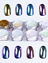 8 Manucure De oration strass Perles Maquillage cosmetique Nail Art Design