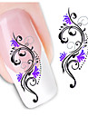 1pcs Nail Art Sticker 3D Nagelstickers makeup Kosmetisk Nail Art Design