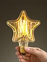 40w e27 style retro industrie ampoule a incandescence transparente en forme d\'etoile