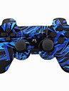 Wireless joystick bluetooth dualshock3 sixaxis controler gamepad reîncărcabil pentru ps3 (multicolor)