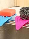 1pcs 14cm * 8cm eponges a usages multiples cuisine creative et salle de bains en forme de l\'engorgement cause par le dispositif de