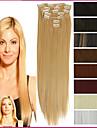 """A Clipser Synthetique Extensions de cheveux 150 18""""24"""" Extension des cheveux"""