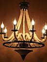 Lampe suspendue ,  Rustique Autres Fonctionnalite for LED Designers MetalSalle de sejour Salle a manger Bureau/Bureau de maison Entree