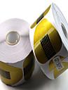 500pcs papier contient du papier de fer a cheval detient des outils de manucure acryliques extension de phototherapie etendre un paquet
