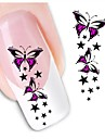 1pcs Nail Sticker Art Autocollants 3D pour ongles Maquillage cosmetique Nail Art Design