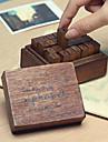 de gemena bokstäverna mönster vintage frimärken set (28 st / set)