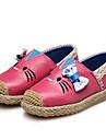 Fete Pantofi Flați Primăvară Toamnă Confortabili Piele Rochie Casual Party & Seară Toc Plat Funde Găuri Negru Roz Roșu Pepene verde