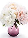 1 Une succursale Soie Pivoines Fleur de Table Fleurs artificielles