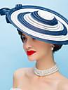 Femei Pană Poliester Diadema-Nuntă Ocazie specială Pălărioare Flori 1 Bucată