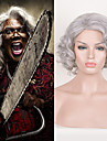 Madea går till fängelse movice Tyler Perry cosplay peruk kort silver syntetiska peruker afro kinky lockigt peruk