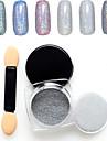 1g Nail Art-dekoration Strasspärlor makeup Kosmetisk Nail Art-design