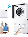 ACTOP smart wifi de securite a domicile video sonnette fonction d\'alarme intercom ios Suppot et andriod wifi602