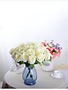 1 Gren Polyester Orkidéer Roser Bordsblomma Konstgjorda blommor 50