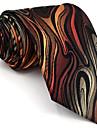 Bărbați Geometric Toate Sezoanele Vintage Draguț Petrecere Birou Casual Celofibră,Cravată