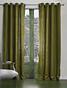 neoclassiques deux panneaux de vie solide chambre rideaux a panneaux poly coton melange opaques