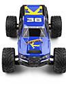 Truggy WLToys 1:12 Borste elektrisk Radiostyrd bil 35 2.4G Blå Färdig att köraFjärrkontroll bil Fjärrkontroll/Sändare Batteriladdare