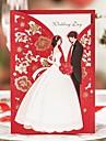 Șal & Buzunar Invitatii de nunta 20 Hârtie cărți de masă