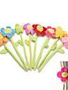 1pcs fermoirs rideau boucle clip porte-holdback rideau Embrasse souple fleur mignonne de bande dessinee