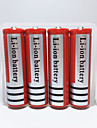 Eclairage Piles Coque de Batterie Lumens Mode 18650 Rechargeable UrgenceCamping/Randonnee/Speleologie Usage quotidien Police/Militaire