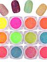 10pcs Manucure De oration strass Perles Maquillage cosmetique Nail Art Design