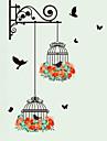 Animaux Botanique Mode Stickers muraux Autocollants avion Autocollants muraux decoratifs,Vinyle Materiel Decoration d\'interieurCalque