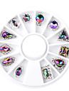 1pcs Nail Art-dekoration Strasspärlor makeup Kosmetisk Nail Art-design