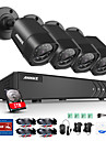 Systeme de securite video annke® 4ch 1080n avec disque dur de 1tb et (4) Cameras 1,0mp resistant aux intemperies