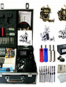 basekey kit de tatouage 4s K194 machine avec poignees d\'alimentation de nettoyage des aiguilles de pinceau d\'encre
