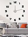 Retro Ceas de perete,Rotund Acrilic Altele 31*39 Interior Ceas