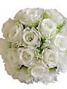 1 Gren Polyester Roser Bordsblomma Konstgjorda blommor 30*30*35