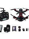 Drone WALKERA 6Canaux 3 Axes 5.8G Avec Camera Quadri rotor RC Controler La Camera Positionnement GPS Avec CameraQuadri rotor RC Camera