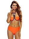 Femei Bikini Femei Bustieră Floral Polyester Spandex