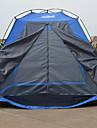 True Adventure 2 personnes Tente Unique Tente pliable Une piece Tente de camping 1000-1500 mm Fibre de verre Etanche Pliable-Randonnee