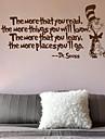 Cuvinte & Citate Perete Postituri Autocolante perete plane Autocolante de Perete Decorative,Vinil Material Pagina de decorarede perete