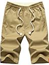 Bărbați Mărime Plus Size Zvelt Pantaloni Chinos Pantaloni Scurți Pantaloni,Casul/Zilnic Plajă Sporturi Vintage Șic Stradă Activ Solid