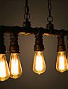 Hängande lampor ,  Traditionell/Klassisk Vintage Utomhus Rustik Kontor/företag Målning Särdrag for Ministil MetallVardagsrum Sovrum