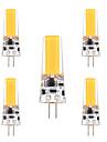 3W G4 Becuri LED Bi-pin T 1 COB 200-300 lm Alb Cald Alb Rece Reglabil Decorativ AC 12 V 5 bc
