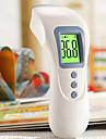 Panna Termometrar Manual LCD Display Timing Röst Minneslagring Tidsdisplay Vattentät Feberalarm Fahrenheit/Celsius Uppladdningsbart ström