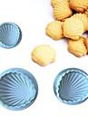 coacere Mold pentru Cookie Plastic DIY #D Nelipicios