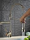 Nutida Konst Dekor / Retro Moderna Utdragbar / Pull-down Kärl brett spary Roterbara Utdragbar dusch with  Keramisk VentilSingel Handtag