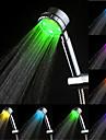 Contemporan Duș de Mână Crom Caracteristică for  LED Ploaie Ecologic , Cap de dus