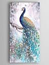 Pictat manual Animal Vertical,Modern Un Panou Canava Hang-pictate pictură în ulei For Pagina de decorare