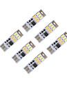 brelong mörkläggning usb 3W 6x5730 natten lätt beröring switch Touch Dual ljus färg (DC5V) 6st